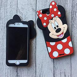 Силиконовый чехол Минни Маус для iPhone 6 Plus/6s Plus