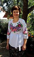 Заготовка жіночої сорочки для вишивки нитками/бісером БС-28, фото 1