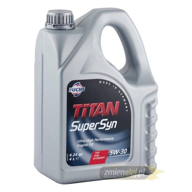 Масло моторное FUCHS TITAN SUPERSYN 5W30 4L