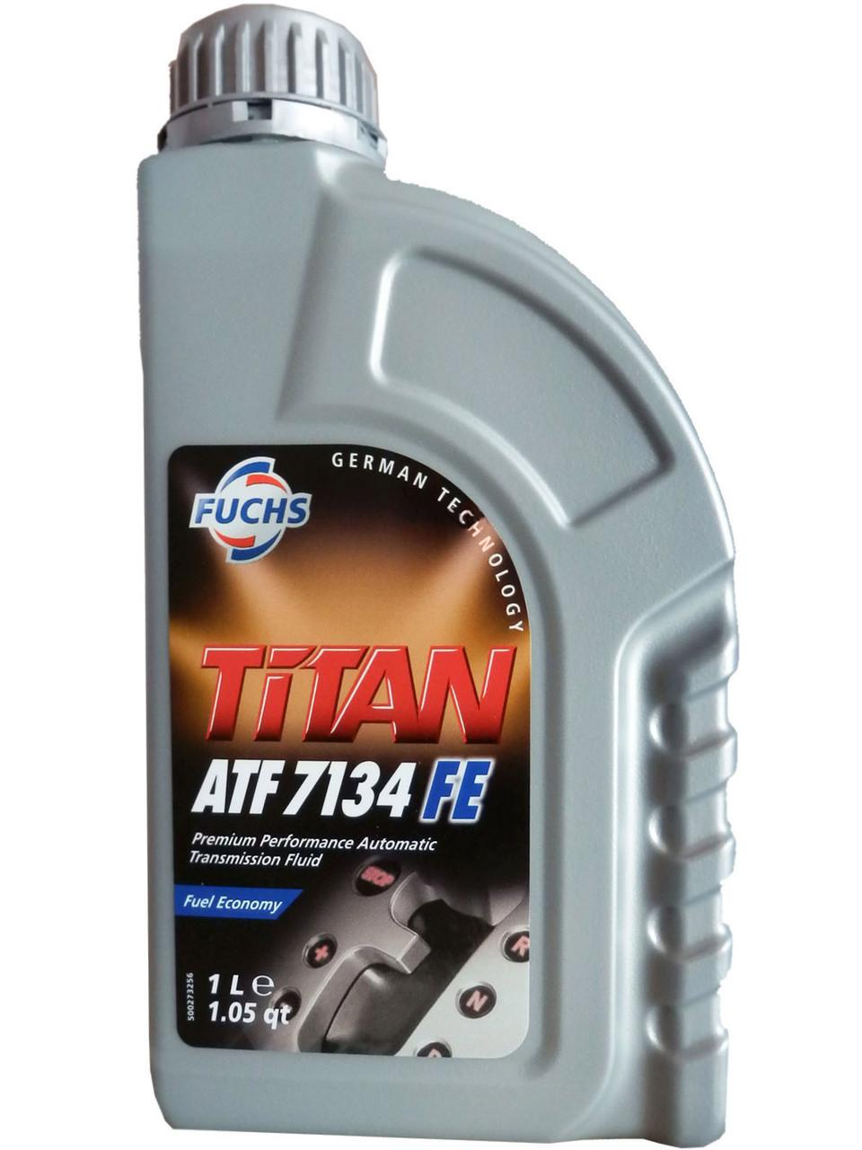 Масло трансмиссионное FUCHS TITAN ATF 7134 FE 1L