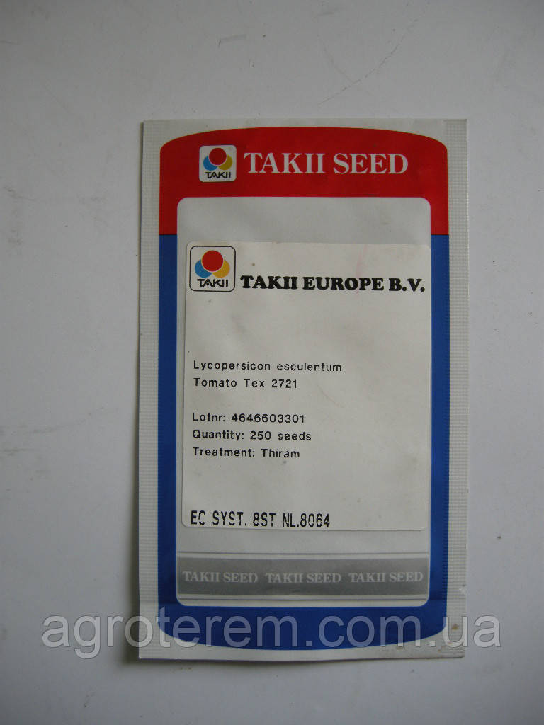 Семена томата TEX 2721 250с