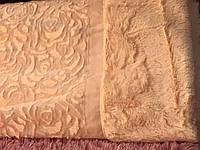 Плед двусторонний,стрижка ( Розы)220/240