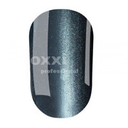 """Гель лак Oxxi """"Кошачий глаз"""" №033 (темный голубо-серый магнитный),8 мл"""