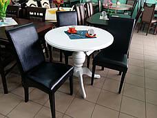 Стол обеденный   круглый   Анжелика   Fusion Furniture, цвет  белый, фото 2