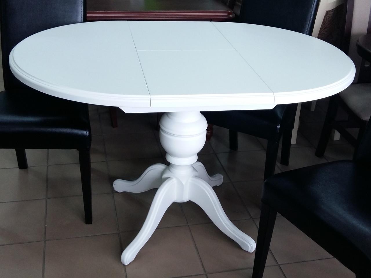 Стол обеденный   круглый   Анжелика   Fusion Furniture, цвет  белый