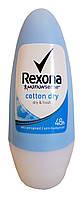 Антиперспирант шариковый Rexona Cotton Dry Легкость хлопка - 50 мл.