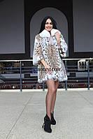 New Collection 2017/2018. Роскошная шуба из дорогого меха рыси, длина 80 см