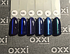 """Гель лак Oxxi """"Кошачий глаз"""" №034 (сине-фиолетовый магнитный),8 мл, фото 4"""