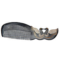 Гребень для волос из кости Утки-мандаринки