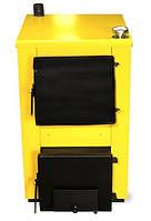 Универсальный твердотопливный котел Буран-Mini 18 площадь отопления до 180 кв м
