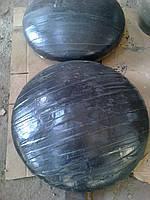 Заглушки стальные эллиптические Дн 630Х12 (Ду 600) с двухслойным антикоррозионным покрытием (весьма усиленный тип)