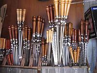 Шампуры с деревянными ручками, подарочные, ручной работы