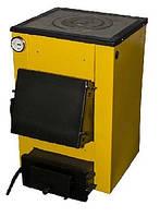 Твердотопливный котел Буран мини 12П с варочной поверхностью площадь отопления до 120 кв м