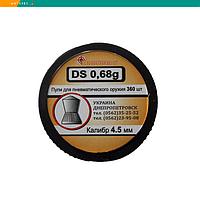 Пневматические пули Скарабей остроголовые 4.5 мм, 0,68 г, 360 штук DS-0,68
