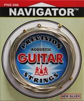 Solid Navigator PNS946 комплект струн с плоской обмоткой для акустической гитары