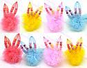 Резинка для волос детская Фатиновый заяц