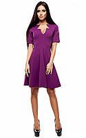 Женское модное платье фиолет, р.42-48