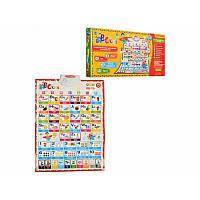 "Плакат интерактивный обучающий ""ABC For Kids"", в коробке 49-23-4 см"