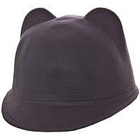 Шляпа фетровая F16005 серый