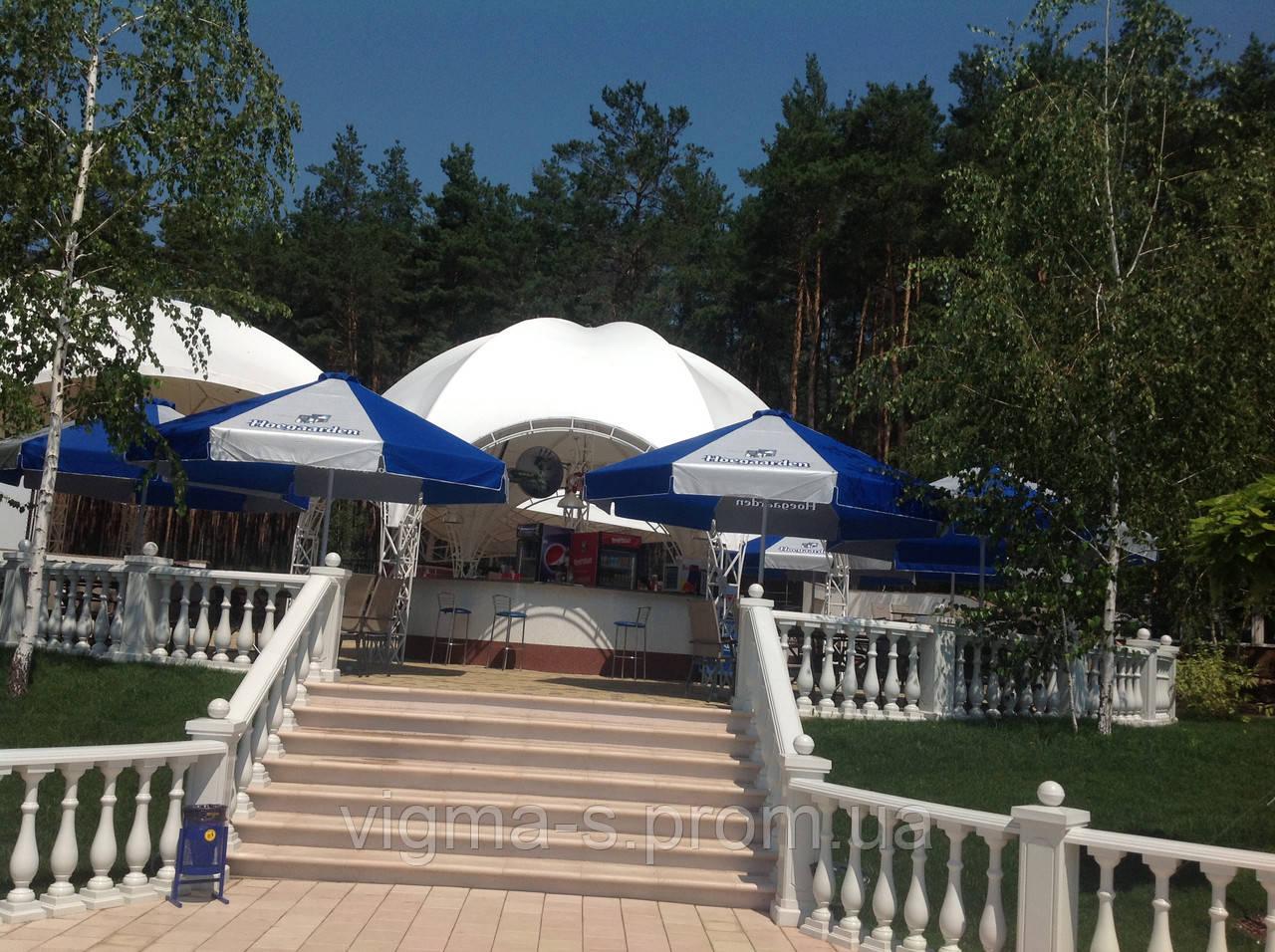 Дизайнерский проект и изготовление летнего кафе