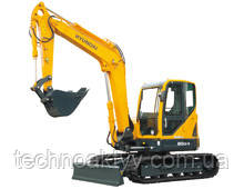 R80CR-9  · Двигатель YANMAR 4TNV98 · Ковш 0,28 (0,37) (㎥ (ярда3)) · Рабочий вес 8350 (18410) (кг (фунт)) · Эталонная модель R80CR-9