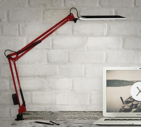 Настольная светодиодная лампа Z-LED 10 Вт красная