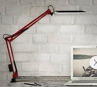 Настольная LED лампа 10 Вт красная