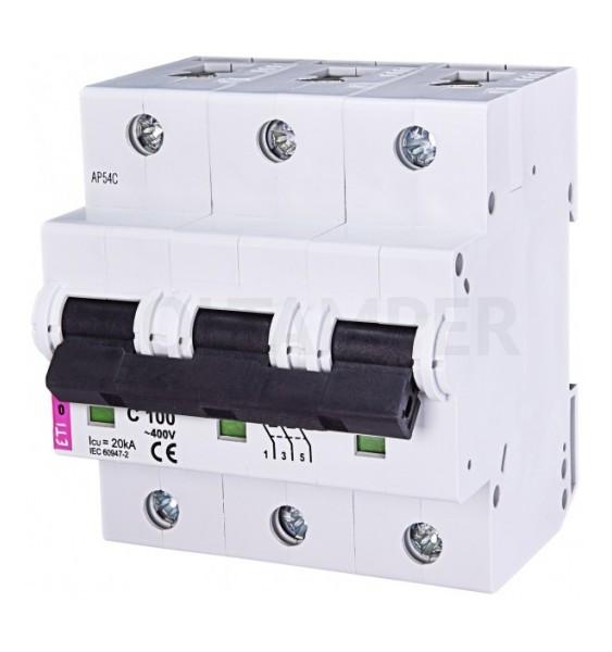 Автоматический выключатель etimat 10 c 25a 3p