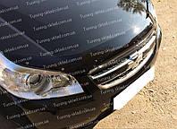 Дефлектор Шевроле Эпика (мухобойка на капот Chevrolet Epica)