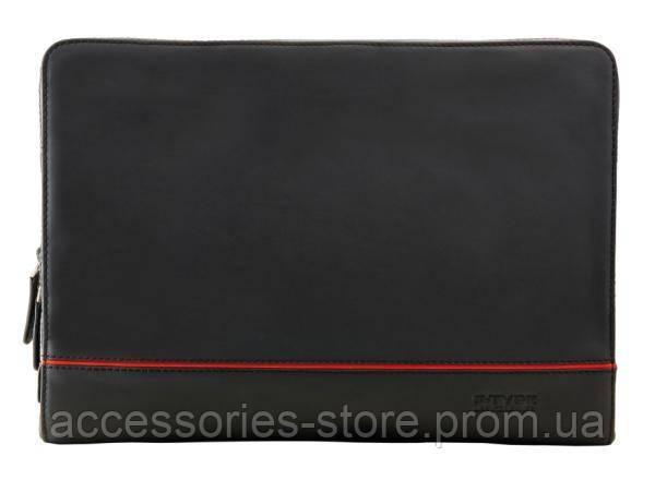 Кожаная папка Jaguar Leather F-Type Portfolio, Black