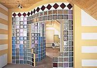 Стеклоблоки традиционные прозрачные безцветные и цветные, матовые Glass Blocks (Чехия)