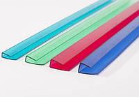 Торцевой пластиковый профиль для поликарбоната