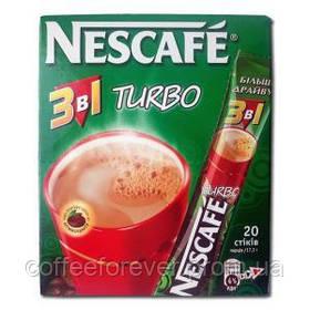 Кофейный напиток Nescafe Turbo 3 в 1