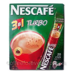Кофейный напиток Nescafe Turbo 3 в 1 , фото 2