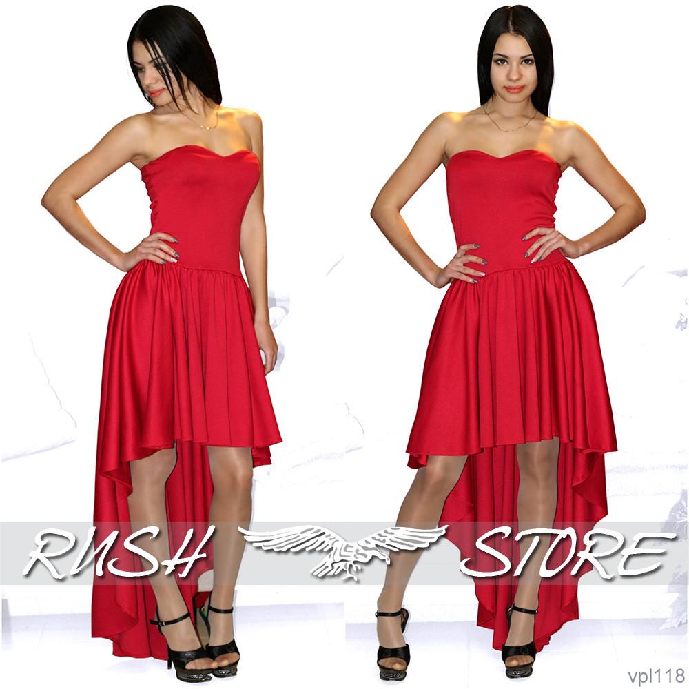 e6bced52589 Купить Вечернее платье короткое спереди длинное сзади в Николаеве от ...