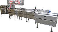 Высокопроизводительная флоу-пак машина SR-500 with phasing conveyors