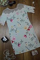 Женское платье с цветочным принтом Italy, фото 1