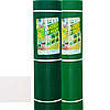 "Сетка пластиковая (""забор"") 20мм х 20мм 1м х 20м зеленая/темно-зеленая"