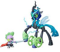 Пони Королева Кризалис и Спайк Хранители Гармонии Май Литл Пони Hasbro, фото 1