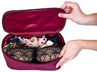 Прямоугольный органайзер для косметики/белья, винный