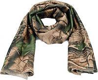 Маскировочный шарф из сетки 160 х 40 см, Tree Leaf.