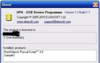 Программа UPA 1.2 и обновление