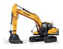· Двигатель Cummins QSB6.7 · Ковш 0,80 (1,05) (㎥ (ярда3)) · Рабочий вес 22300 (49160) (кг (фунт)) · Эталонная модель HX220NL
