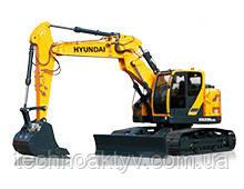 HX235LCR  · Двигатель Cummins QSB 6.7 · Ковш 0,8 (1,05) (㎥ (ярда3)) · Рабочий вес 24000 (52910) (кг (фунт)) · Эталонная модель HX235LCR