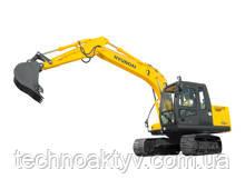R110-7  · Двигатель MITSUBISHI S4K-Т · Ковш 0,45 (0,59) (㎥ (ярда3)) · Рабочий вес 11200 (24690) (кг (фунт)) · Эталонная модель R110-7