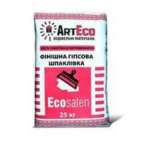 Финишная гипсовая шпаклевка Arteco Ecosaten, 25 кг