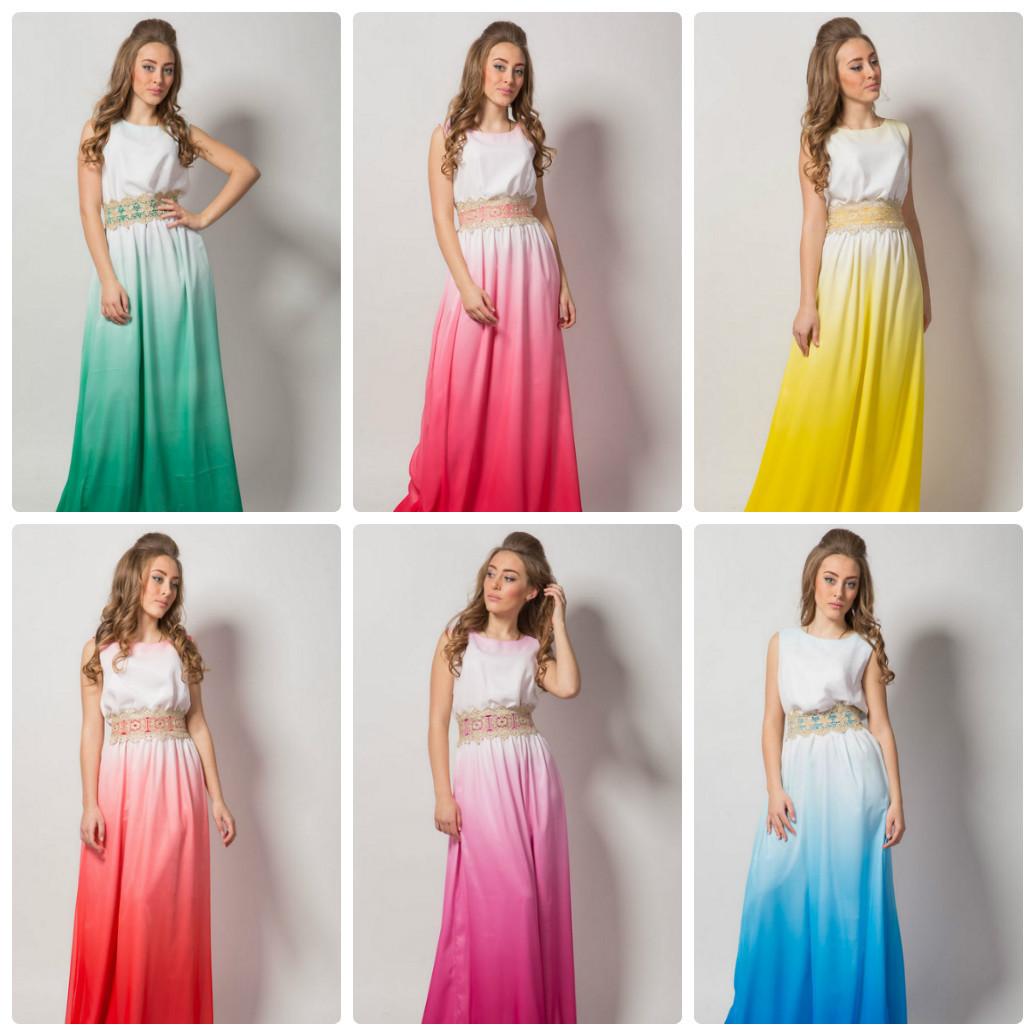 0d3713c6882c Платье в пол вечернее нарядное платье градиент р. 44-48 - TIASS - женская
