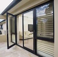 Двери алюминиевые