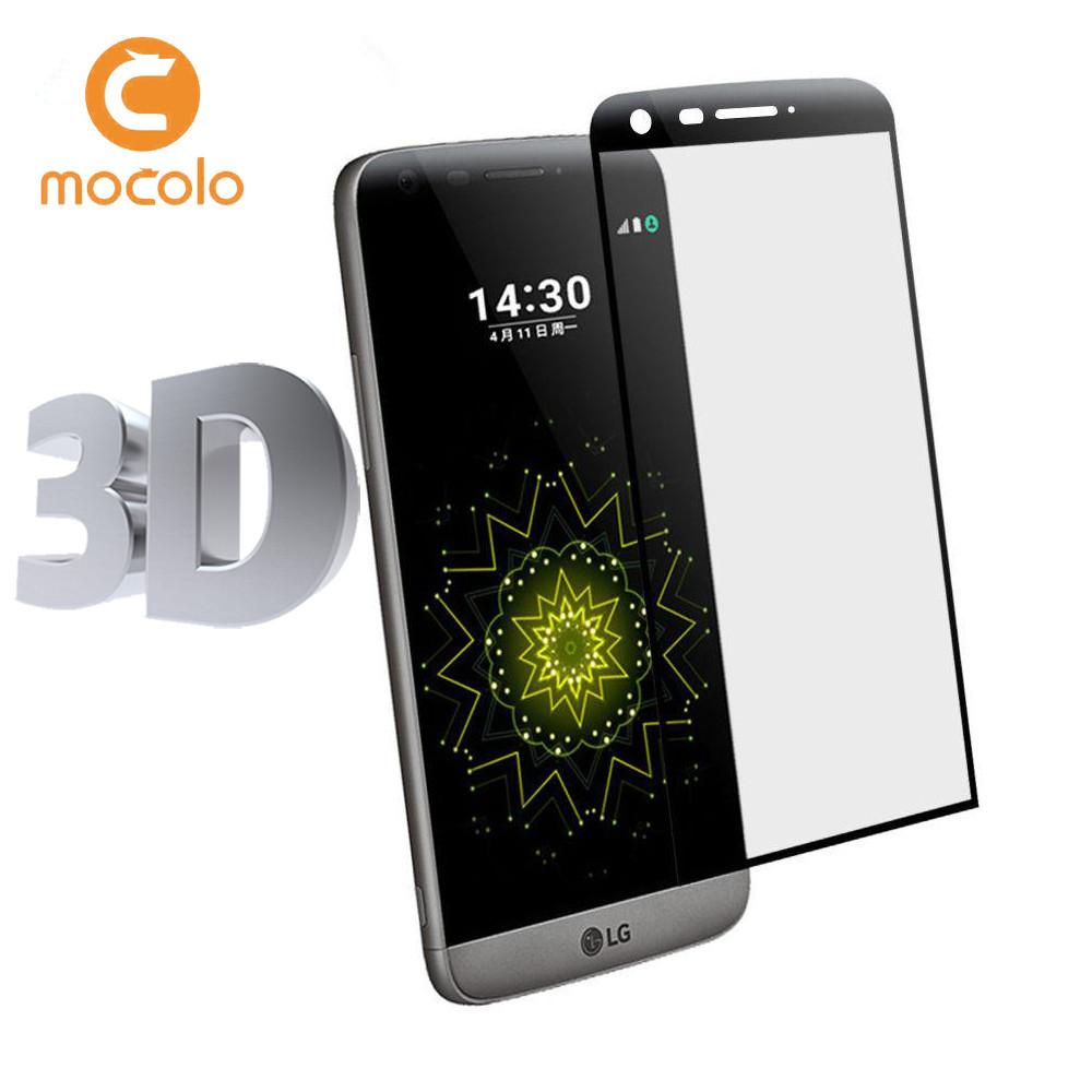 Защитное стекло Mocolo 3D 9H на весь экран для LG G5 H850 SE H845 черный