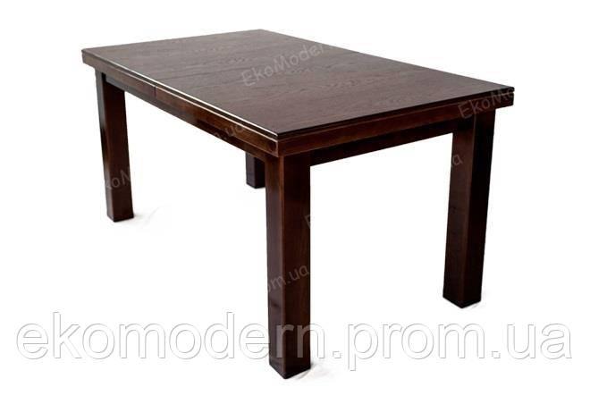 Стол обеденный раздвижной БОСТОН+ из дерева бук  для гостиной и кухни дома